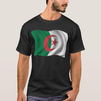 Wavy Algeria Flag T-Shirt