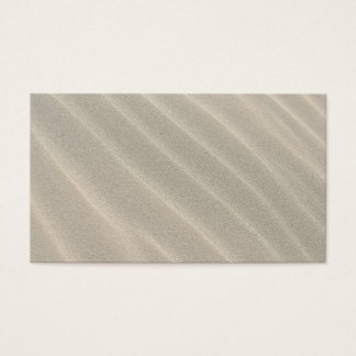 Wavy Beach Sand Business Card