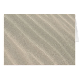 Wavy Beach Sand Note Card