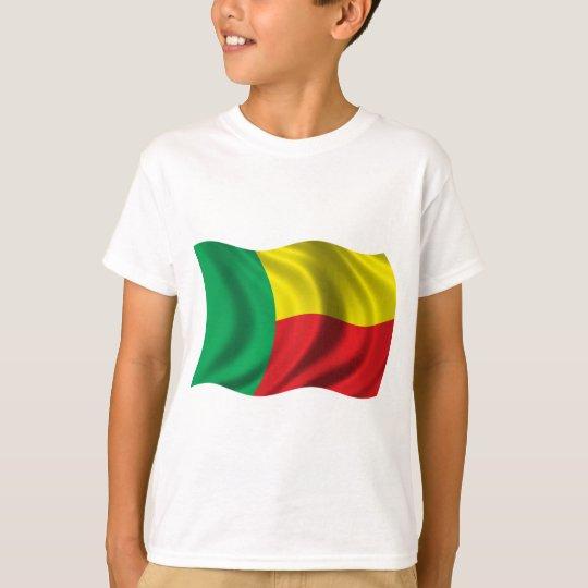 Wavy Benin Flag T-Shirt
