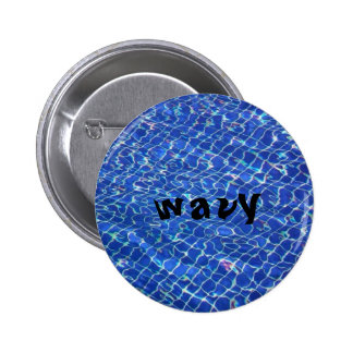 wavy button 2in