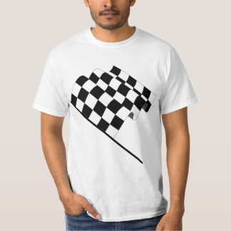 Wavy checkered flag T-Shirt