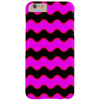 Wavy Chevron Zig Zag Stripes Barely There iPhone 6 Plus Case