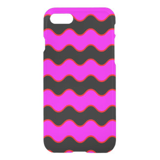 Wavy Chevron Zig Zag Stripes iPhone 7 Case