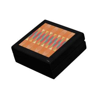 Wavy color stripe gift box