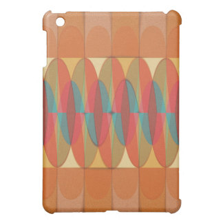 Wavy color stripe iPad mini cases