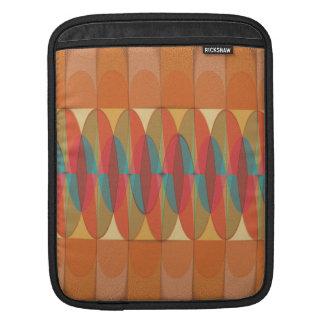 Wavy color stripe iPad sleeve