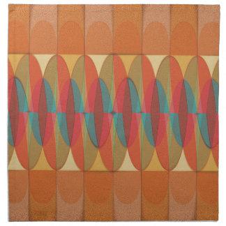 Wavy color stripe napkin