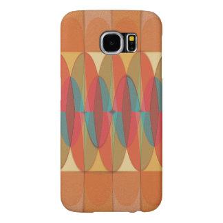 Wavy color stripe samsung galaxy s6 cases