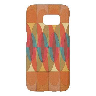 Wavy color stripe samsung galaxy s7 case