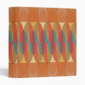Wavy color stripe vinyl binders
