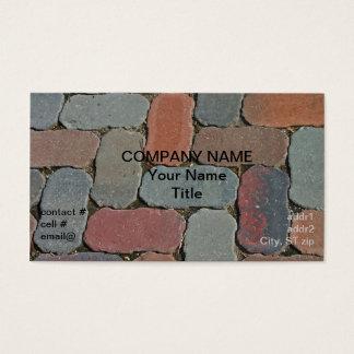 wavy edge pavers business card