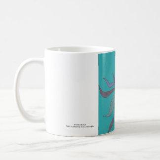 Wavy Flower Mug