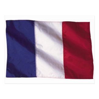 Wavy France Flag Postcard