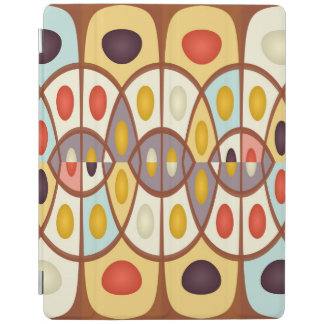 Wavy geometric abstract iPad cover