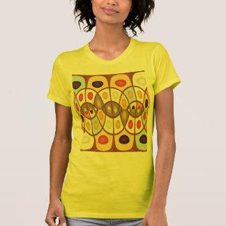 Wavy geometric abstract T-Shirt