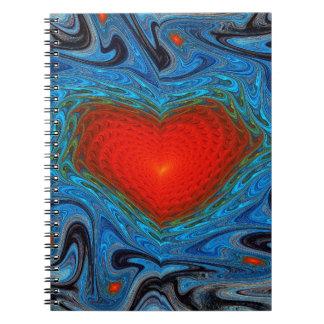 Wavy Gnarl Notebook