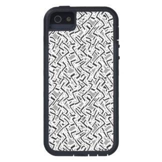 Wavy Intricate Pattern Design iPhone 5 Covers