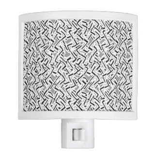 Wavy Intricate Pattern Design Nite Lites