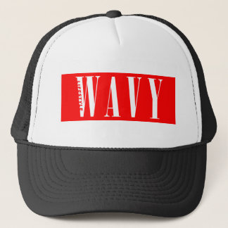 Wavy Lifestyle Trucker Hat