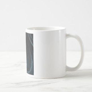 Wavy line of flow coffee mug