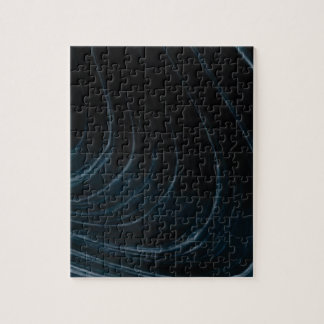 Wavy line of flow jigsaw puzzle