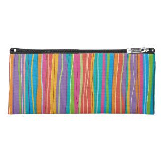Wavy Line Pencil Bag