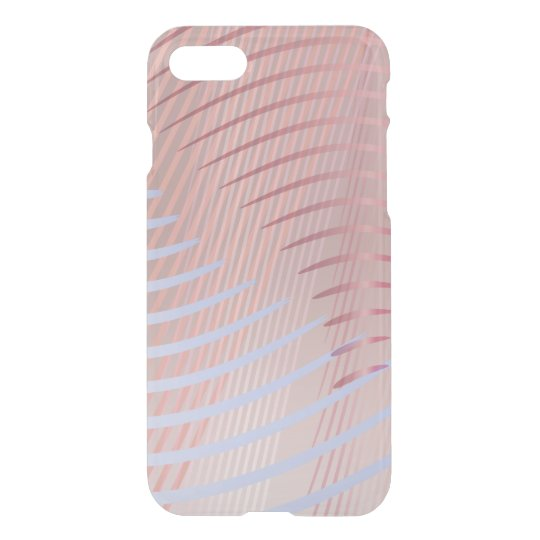Wavy Lines Ombre iPhone 7 Case