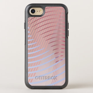 Wavy Lines Ombre OtterBox Symmetry iPhone 8/7 Case