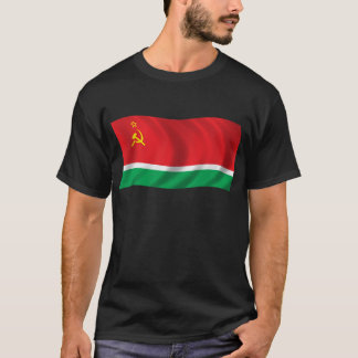Wavy Lithuanian SSR Flag T-Shirt