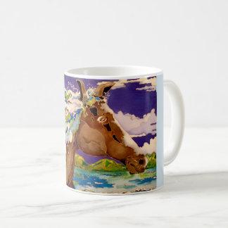 Wavy Mane Coffee Mug