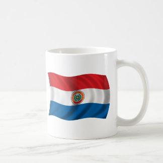 Wavy Paraguay Flag Coffee Mug
