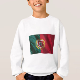 Wavy Portugal Flag Sweatshirt