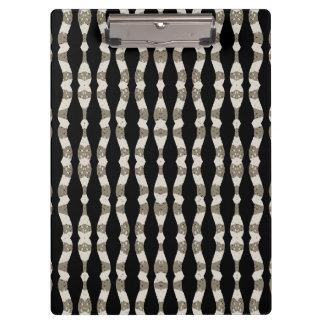 Wavy Stripes Pattern Clipboard
