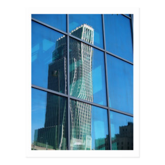 WAVY TOWER POSTCARD