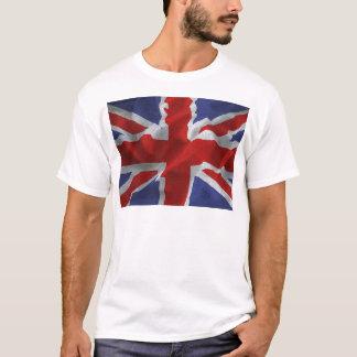 wavy Union Jack T-Shirt