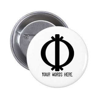 Wawa Aba | Symbol of Toughness and Resilience 2 Inch Round Button