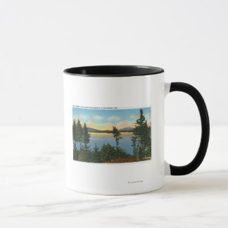 Wawbeek Club View of Upper Saranac Lake Mug