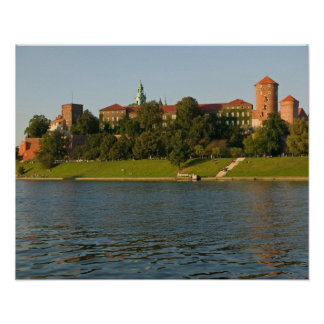 Wawel Hill with Royal Castle and Cathedral, Poster