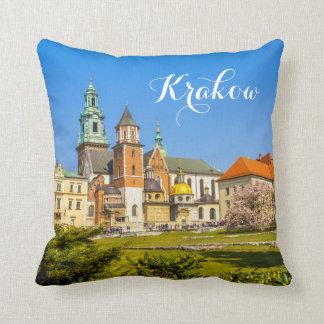 Wawel, Krakow, Poland, travel pillow