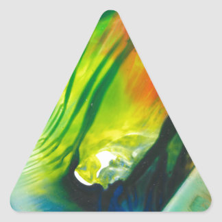 Wax Art 0001 Triangle Sticker