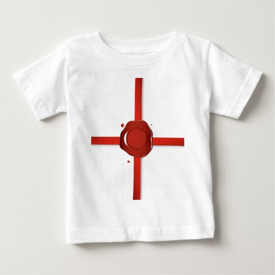 Wax Seal And Red Ribbon Baby T-Shirt