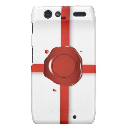 Wax Seal And Red Ribbon Motorola Droid RAZR Case