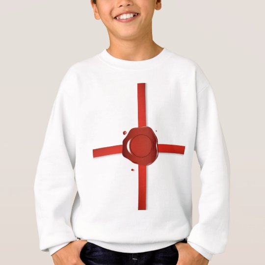 Wax Seal And Red Ribbon Sweatshirt