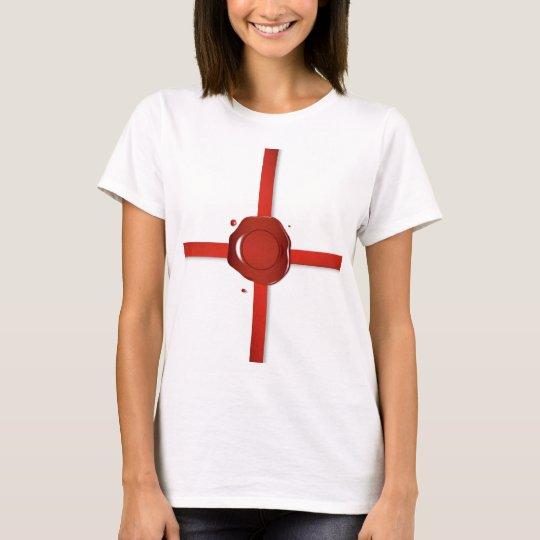 Wax Seal And Red Ribbon T-Shirt
