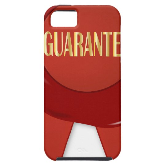 Wax Stamp Guaranree Case For The iPhone 5