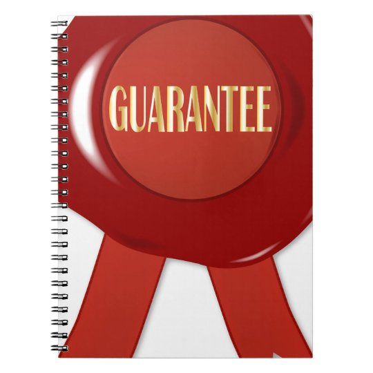 Wax Stamp Guaranree Notebook