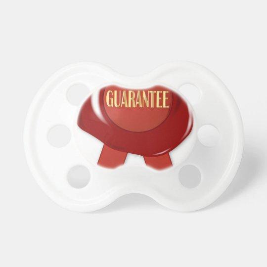 Wax Stamp Guaranree Pacifier
