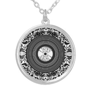 WAXVISION sound Silver Plated Necklace