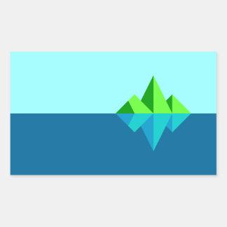 Waxwing Island Sticker